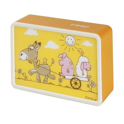 Veilleuse BabyLight dès la naissance motif animaux de la ferme tranche orange_YAPA_VE_015