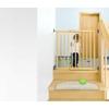 Barrière de Sécurité Enfant Extensible à Visser - Bois