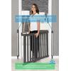 Barrière de sécurité Design en Bois pour porte et escalier
