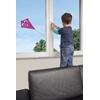 Système de fermeture de sécurité enfant pour fenêtre et accès balcon