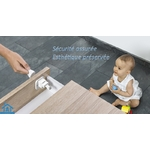 Verrou magnétique pour sécurité enfant