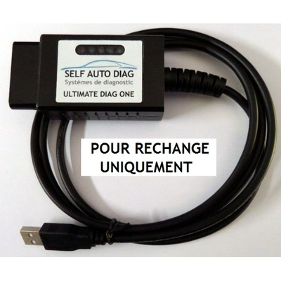 INTERFACE OBD/USB POUR RECHANGE