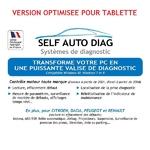ULTIMATE DIAG ONE Optimisé pour tablette WINDOWS