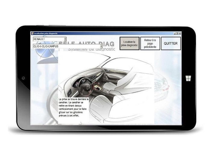 diagnostique-auto-ultimate-diag-one-tablette-localisation-prise