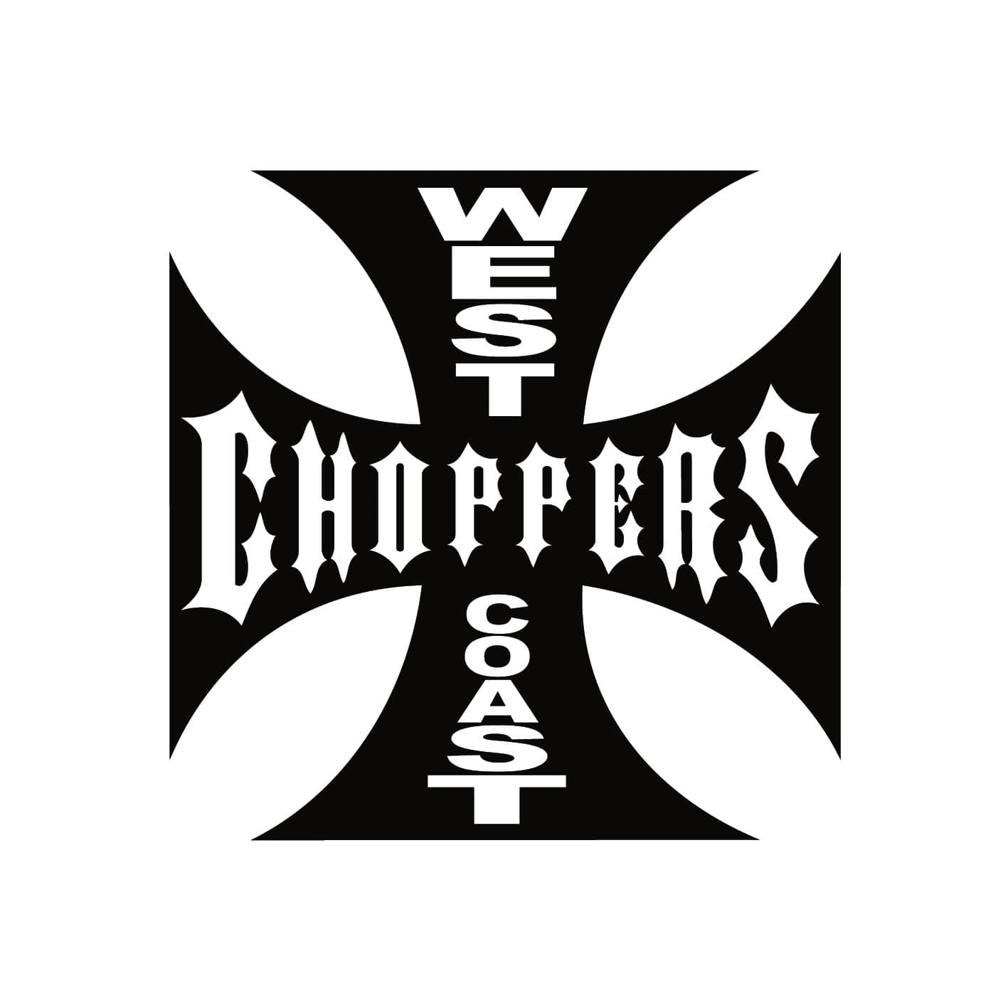 Stickers west coast choppers autocollant pour moto