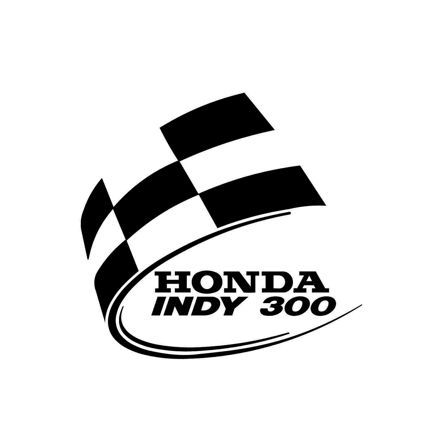 Stickers honda indy 300 autocollant moto