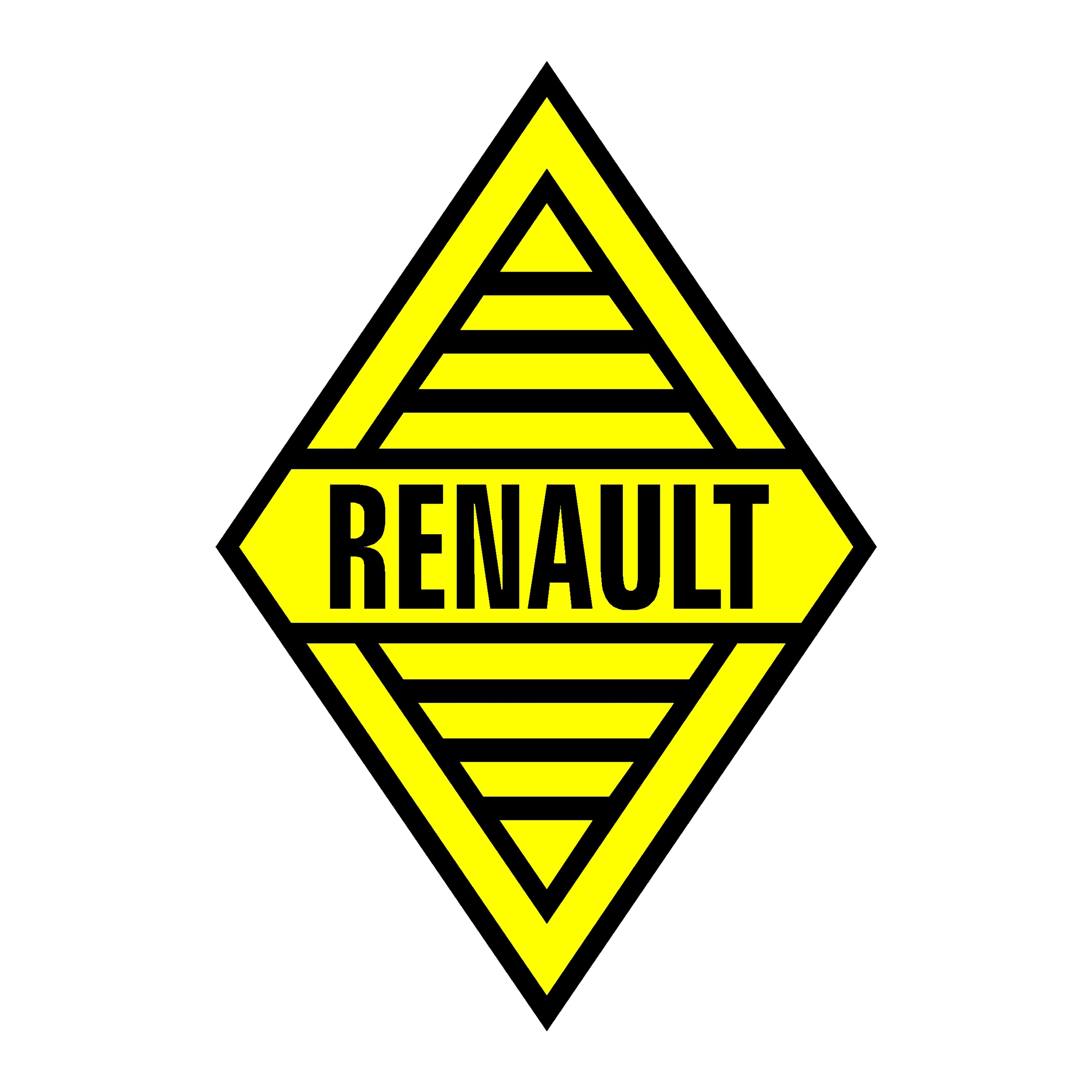 stickers renault old logo voitures premstick. Black Bedroom Furniture Sets. Home Design Ideas