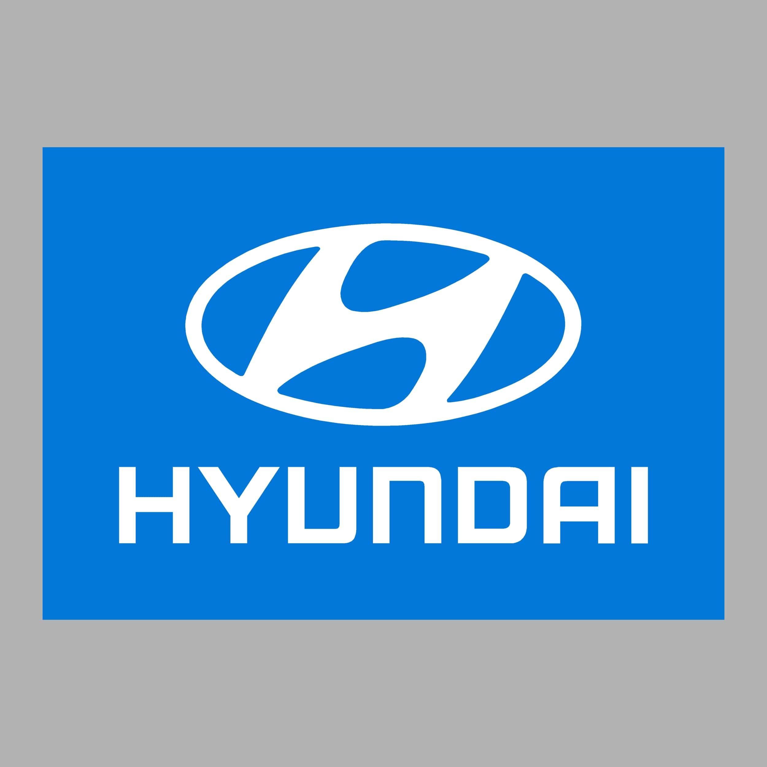 STICKERS HYUNDAI COULEURS