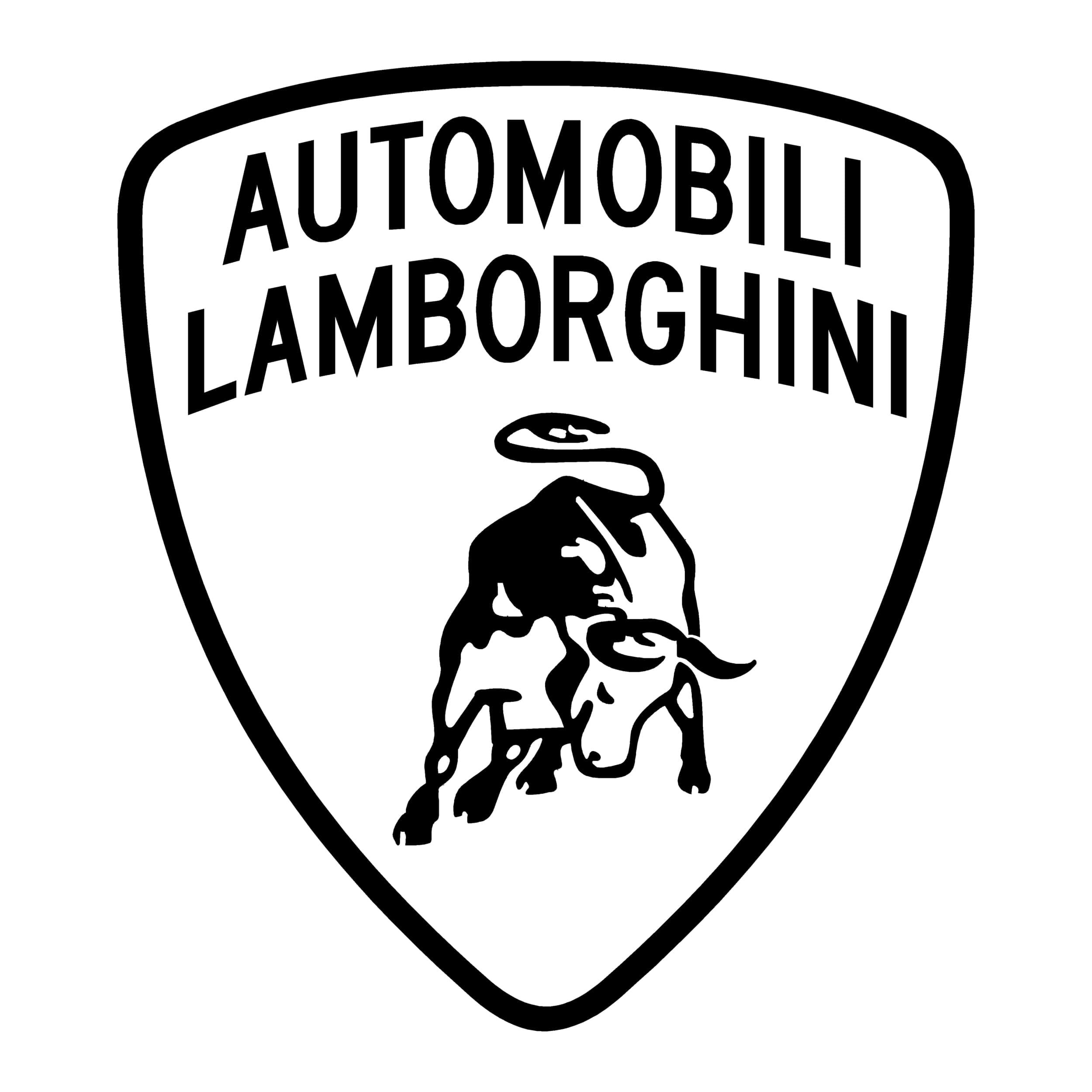 stickers lamborghini logo - autocollant voiture