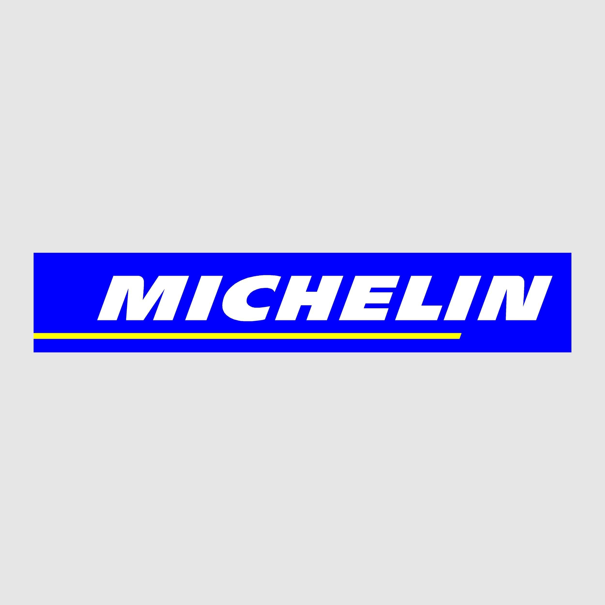 STICKERS MICHELIN TEXTE