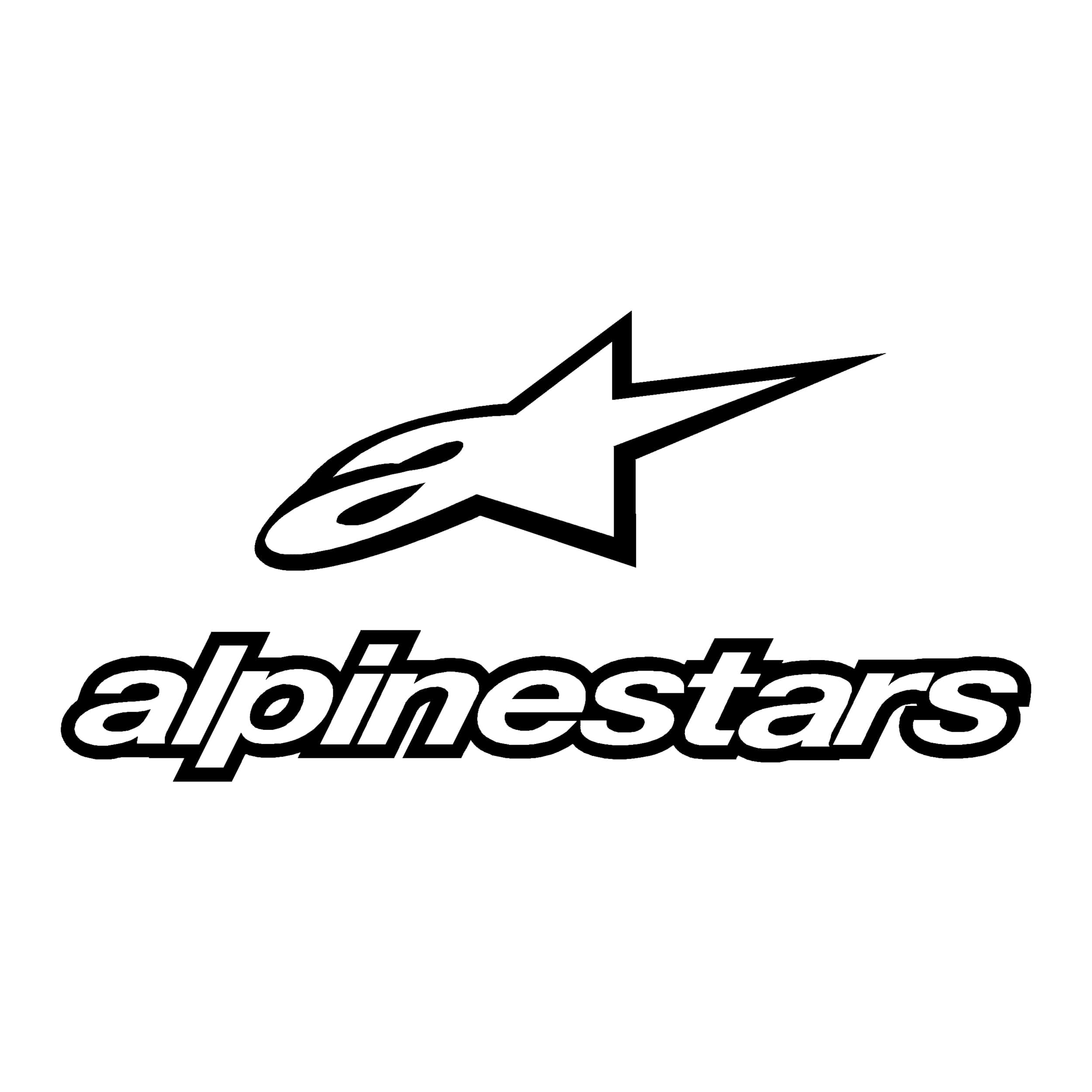 Alpinestars Decal Alpine Star camion