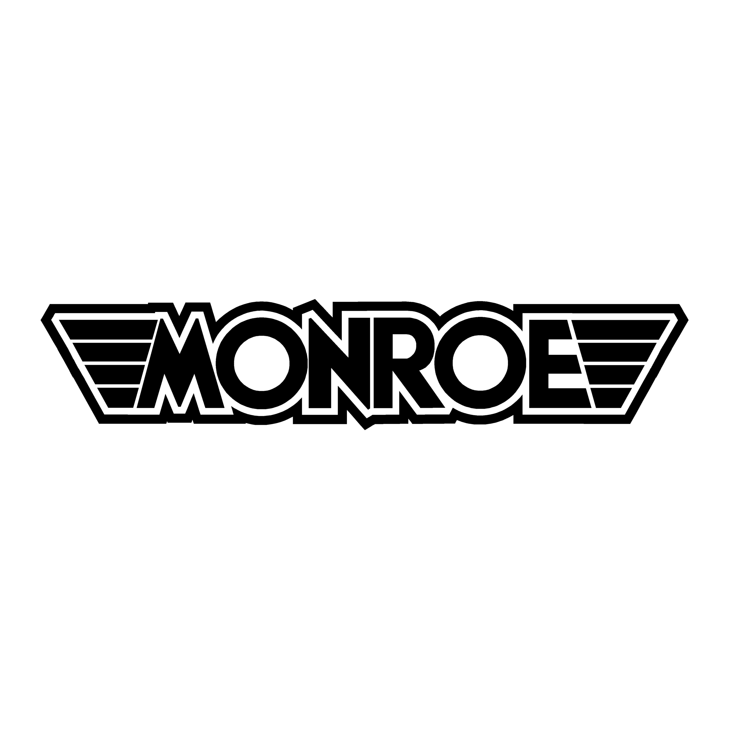 sticker monroe ref 2 tuning audio sonorisation car auto moto camion competition deco rallye autocollant