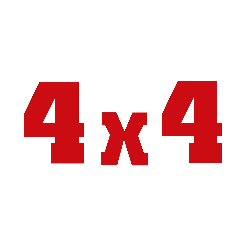 STICKERS 4X4 DANGEL