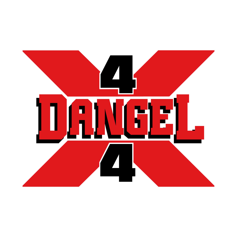 STICKERS DANGEL 4X4