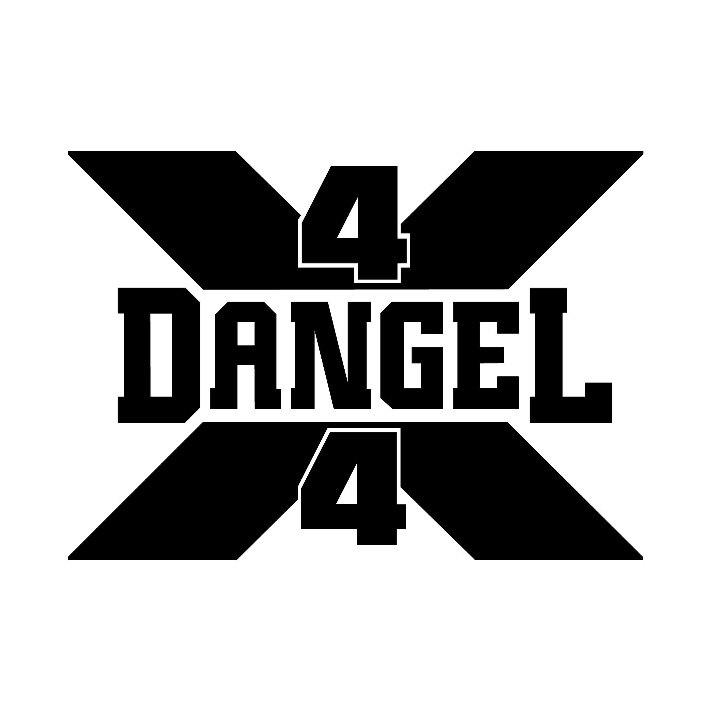 STICKERS DANGEL 4X4 LOGO