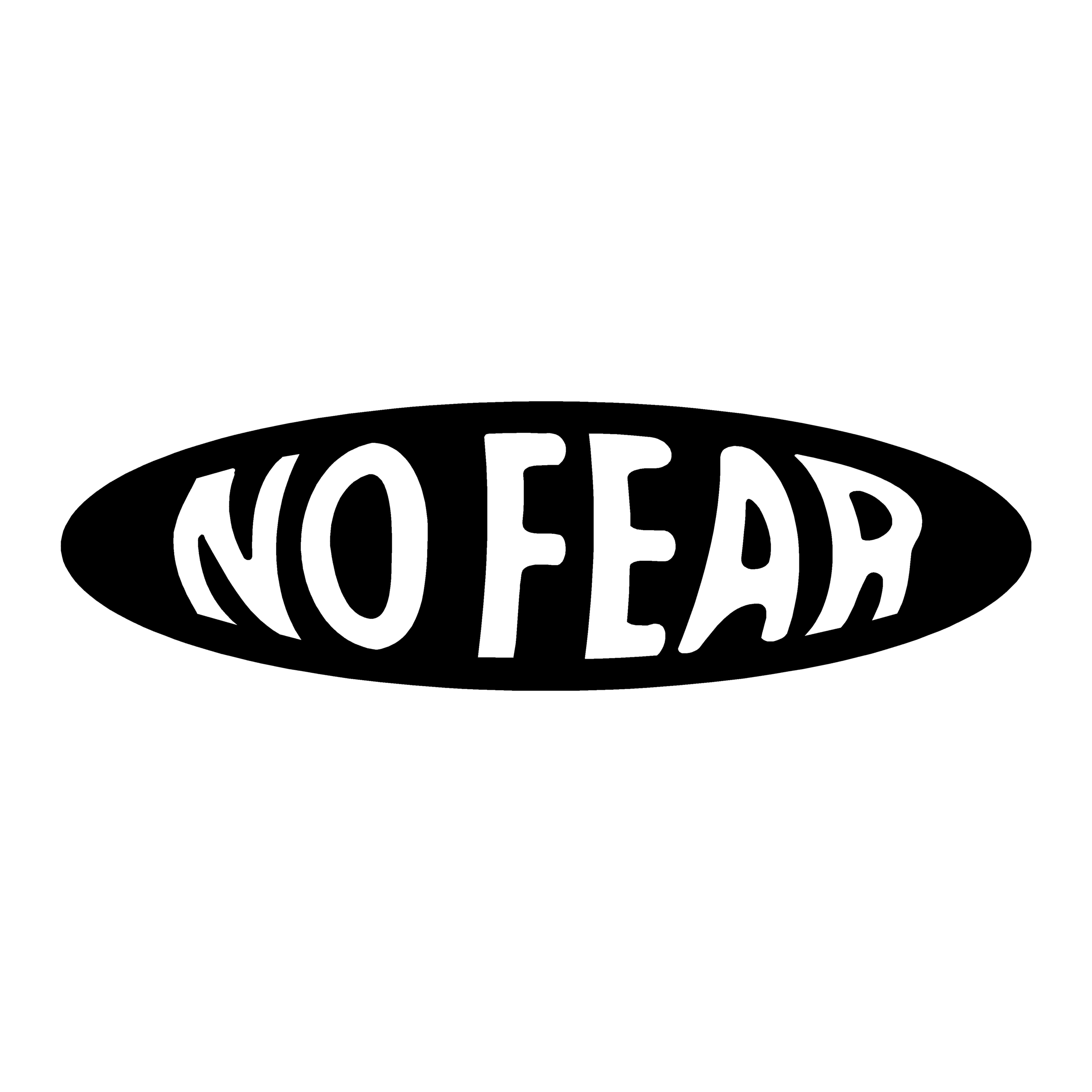 stickers no fear ref 4 tuning audio sonorisation car auto moto camion competition deco rallye autocollant
