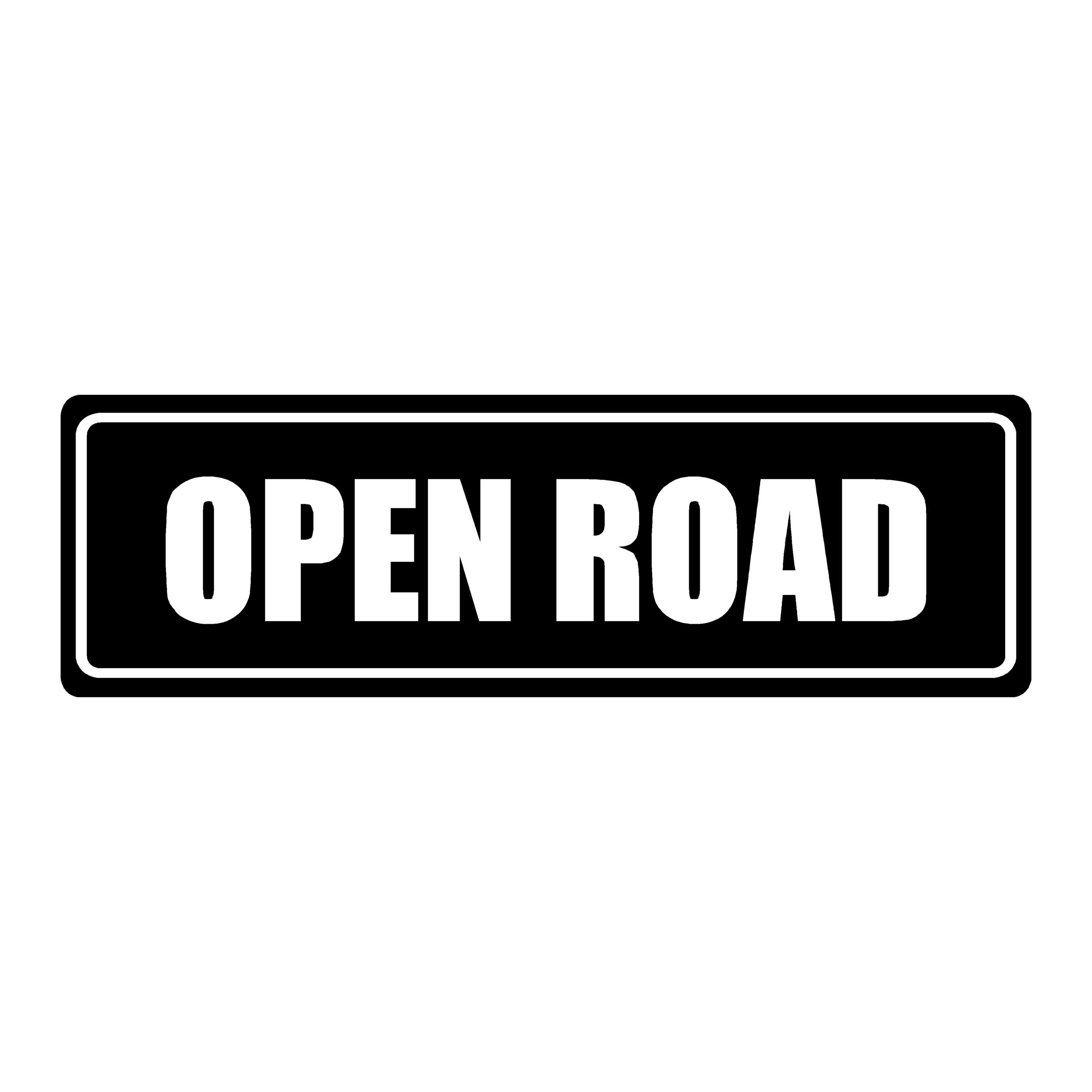 stickers open road ref 1 tuning amortisseur 4x4 tout terrain car auto moto camion competition deco rallye autocollant
