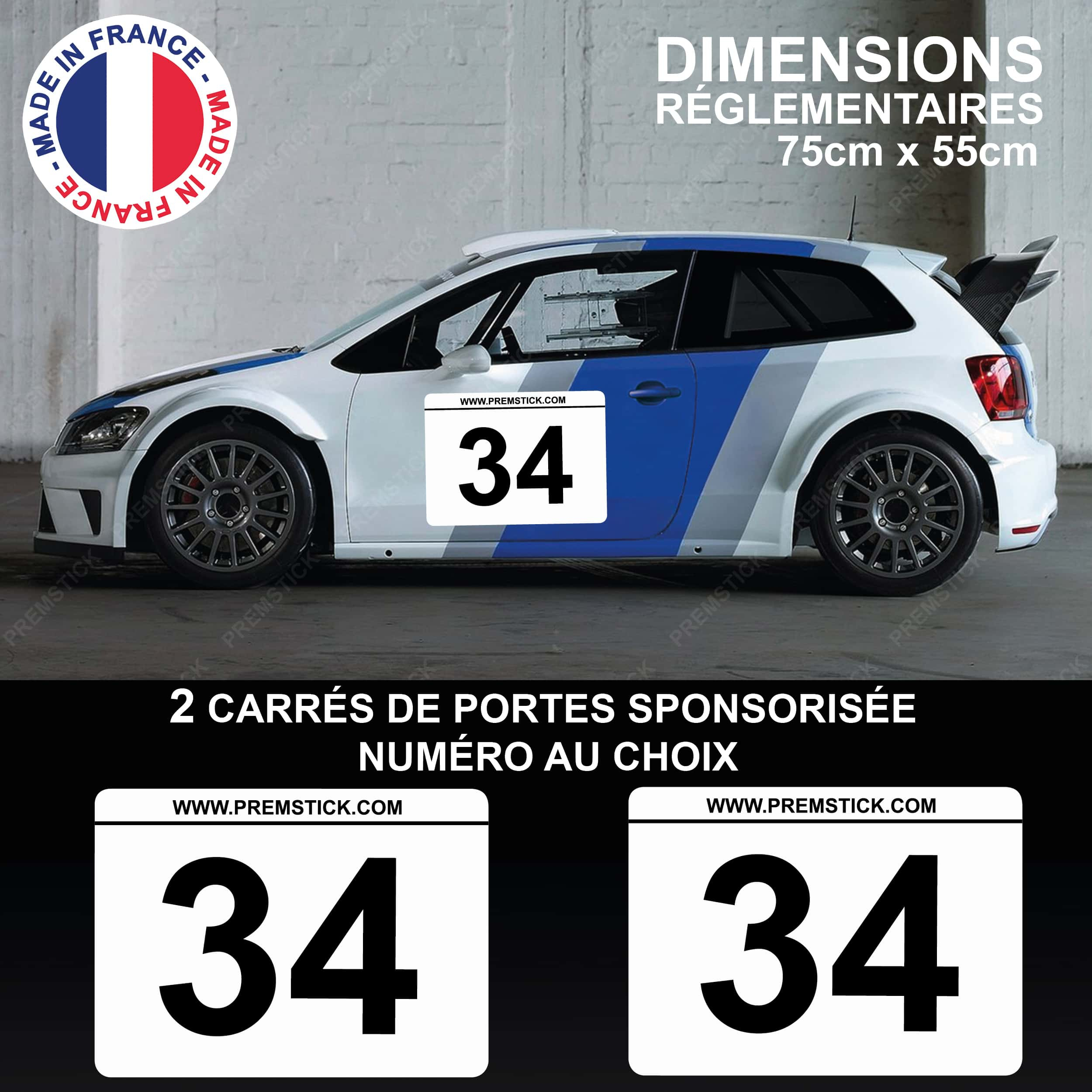stickers-carre-de-porte-rallye-panneau-blanc-sponsorisé-numero-racing-voiture-auto-autocollant-sticker-ref4-min