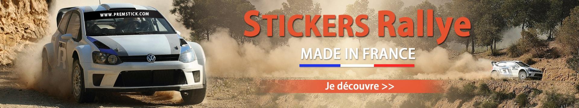 Stickers Rallye