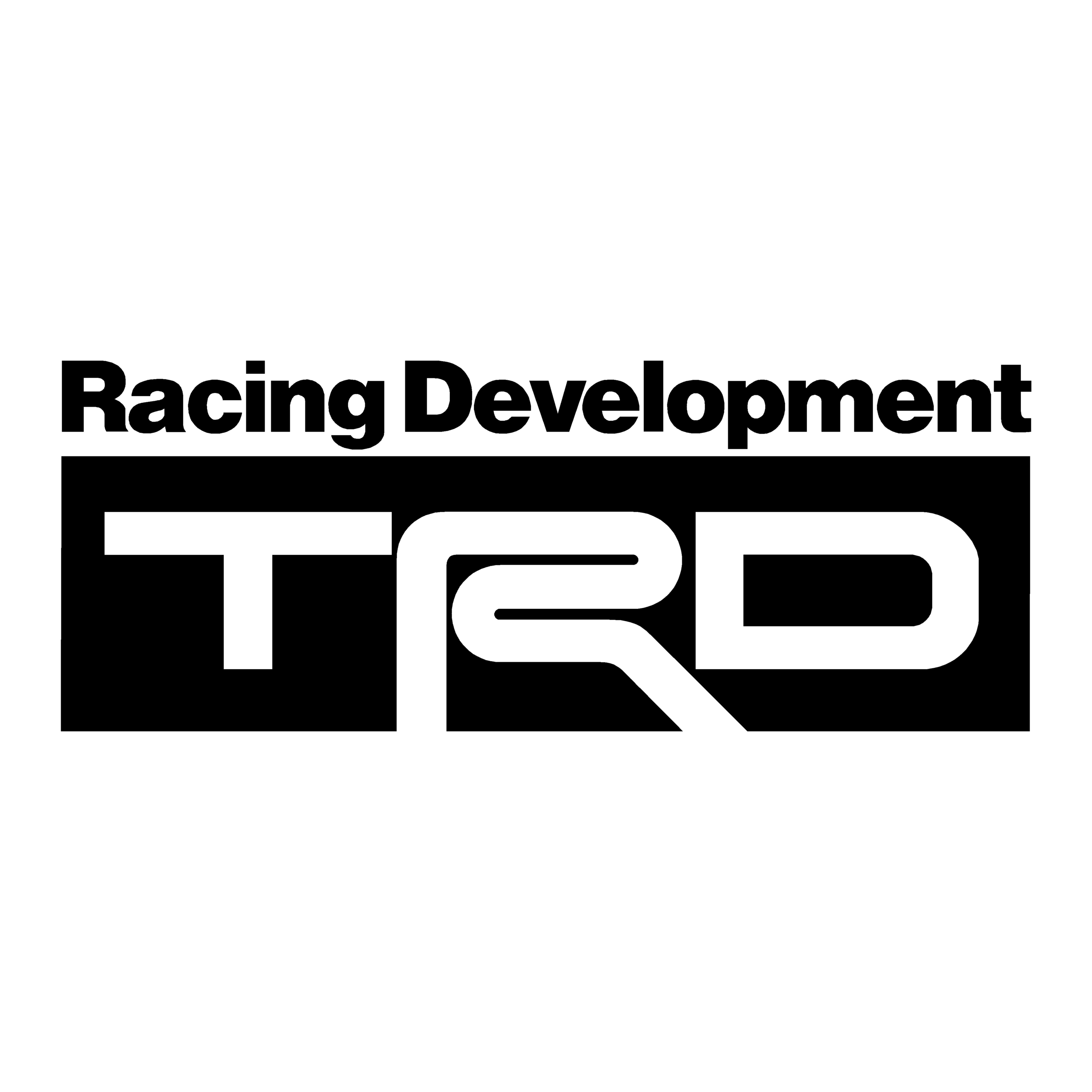 stickers trd ref 1 tuning audio sonorisation car auto moto camion competition deco rallye autocollant