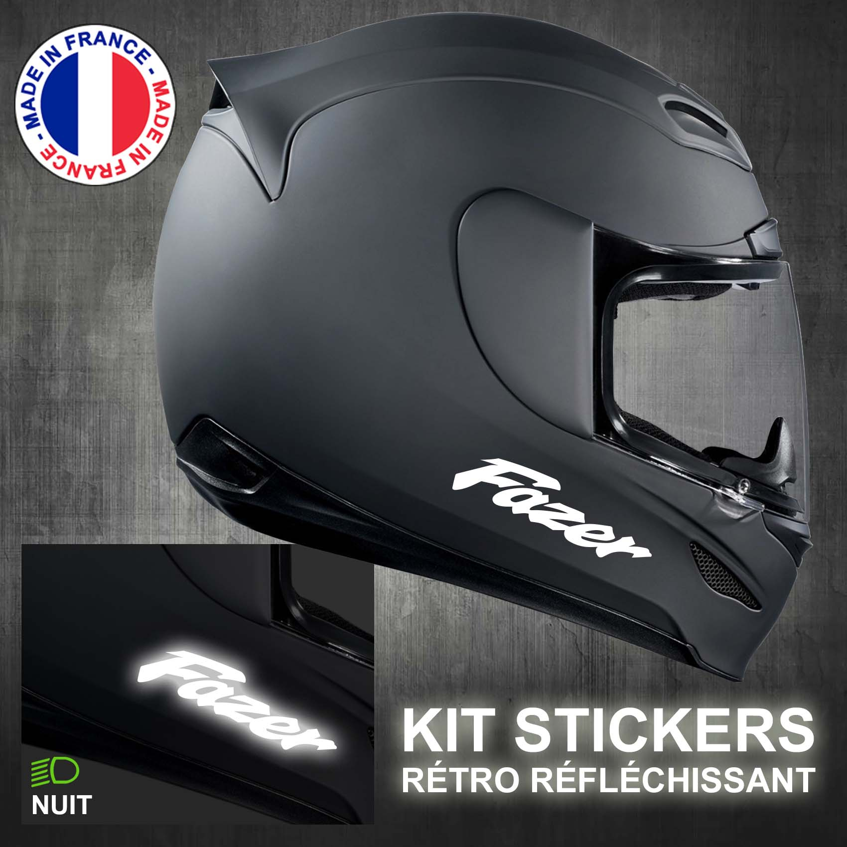 stickers-casque-moto-fazer-ref1-retro-reflechissant-autocollant-noir-moto-velo-tuning-racing-route-sticker-casques-adhesif-scooter-nuit-securite-decals-personnalise-personnalisable-min