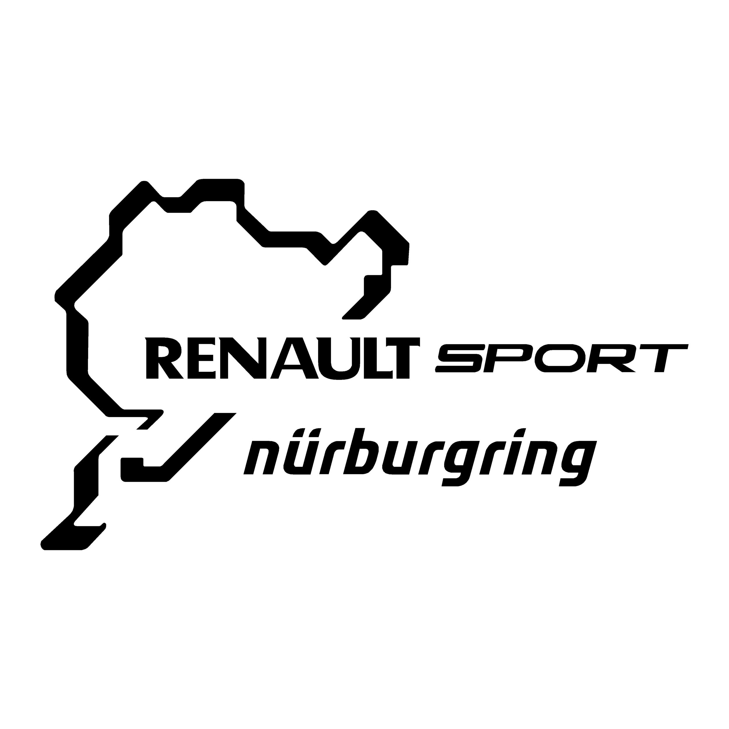 STICKERS NURBURGRING RENAULT