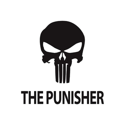 STICKERS HARLEY DAVIDSON THE PUNISHER