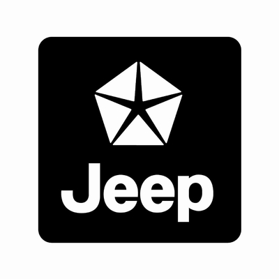 STICKERS JEEP LOGO