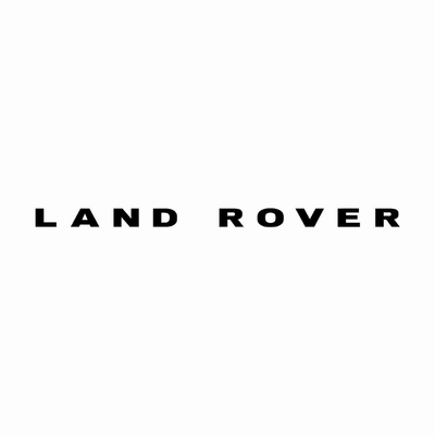STICKERS LAND ROVER ECRITURE GRAS