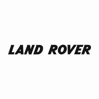 STICKERS LAND ROVER TEXTE GRAS