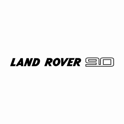 STICKERS LAND ROVER 90