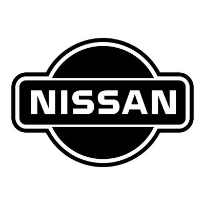 STICKERS NISSAN LOGO CONTOURS