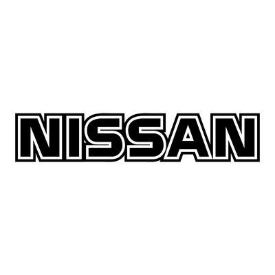 STICKERS NISSAN ECRITURE PLEIN