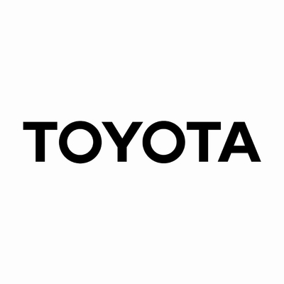STICKERS TOYOTA ECRITURE