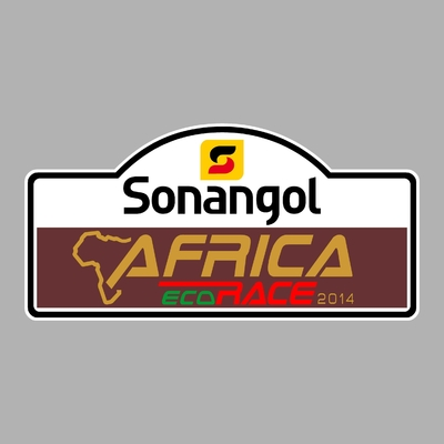 STICKERS AFRICA ECO RACE SONANGOL