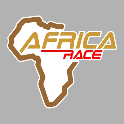 STICKERS AFRICA RACE PLEIN
