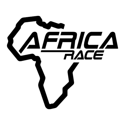 STICKERS AFRICA RACE LOGO