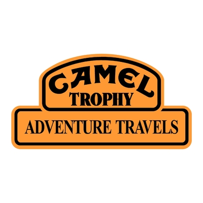 STICKERS CAMEL TROPHY ADVENTURE TRAVELS