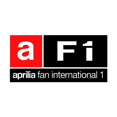 STICKERS APRILIA AF1 COULEURS