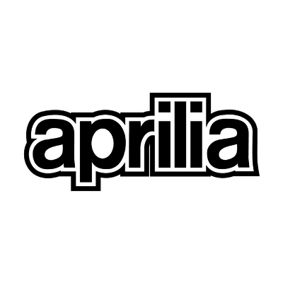 STICKERS APRILIA ECRITURE PLEIN
