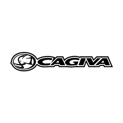 STICKERS CAGIVA LOGO LIGNE M2