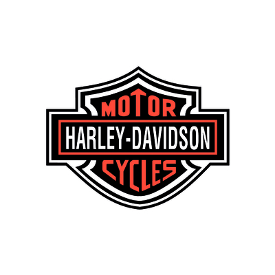 STICKERS HARLEY DAVIDSON CYCLES COULEURS