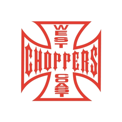 STICKERS HARLEY WEST COAST CHOPPERS