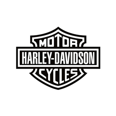 STICKERS HARLEY DAVIDSON CYCLES