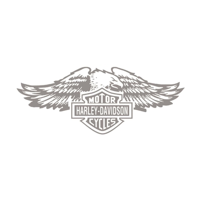 STICKERS HARLEY DAVIDSON CYCLES AIGLE