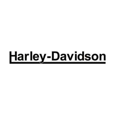 STICKERS HARLEY DAVIDSON UNDERLINE