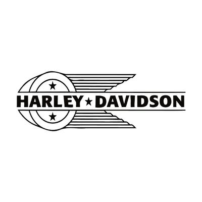 STICKERS HARLEY DAVIDSON GAUCHE