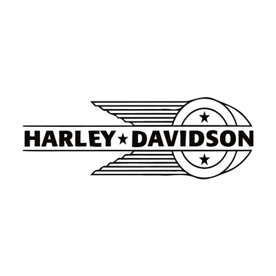 STICKERS HARLEY DAVIDSON DROITE