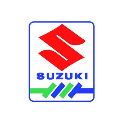STICKERS SUZUKI BANDES COULEURS