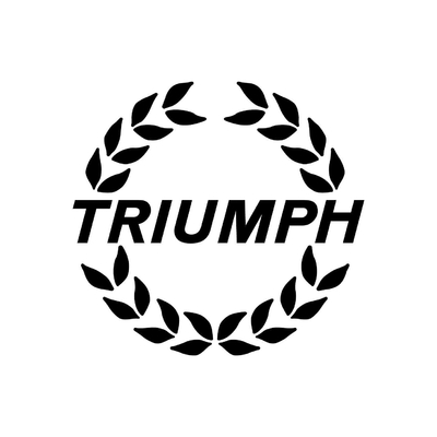 STICKERS TRIUMPH COURONNE
